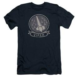 Battlestar Galactica - Mens Viper Squad Premium Slim Fit T-Shirt