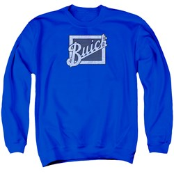 Buick - Mens Distressed Emblem Sweater
