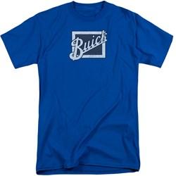 Buick - Mens Distressed Emblem Tall T-Shirt