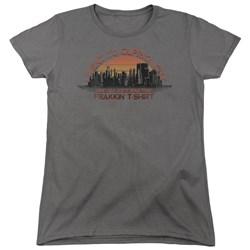 Battlestar Galactica - Womens Caprica City T-Shirt
