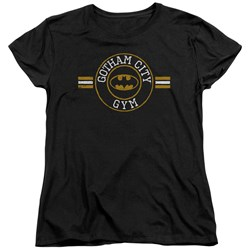 Batman - Womens Gotham City Gym T-Shirt