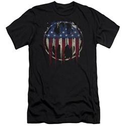 Batman - Mens Bleeding Signal Slim Fit T-Shirt