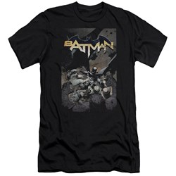 Batman - Mens Batman One Premium Slim Fit T-Shirt