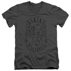 Asking Alexandria - Mens The Finest V-Neck T-Shirt
