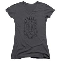 Asking Alexandria - Juniors The Finest V-Neck T-Shirt