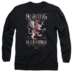 Asking Alexandria - Mens Royalty Long Sleeve T-Shirt