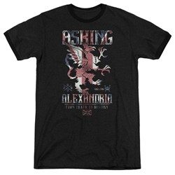 Asking Alexandria - Mens Royalty Ringer T-Shirt