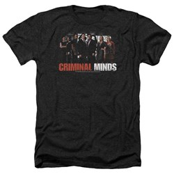 Criminal Minds - Mens The Brain Trust Heather T-Shirt