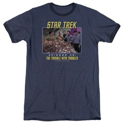 Star Trek - Mens The Trouble With Tribbles Ringer T-Shirt