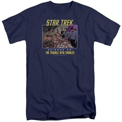 Star Trek - Mens The Trouble With Tribbles Tall T-Shirt