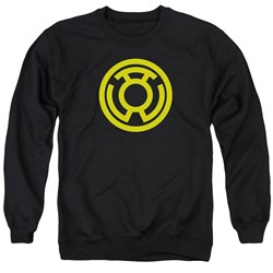 Green Lantern - Mens Yellow Emblem Sweater