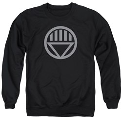 Green Lantern - Mens Grey Emblem Sweater