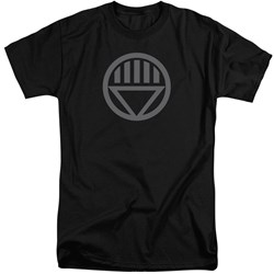 Green Lantern - Mens Grey Emblem Tall T-Shirt
