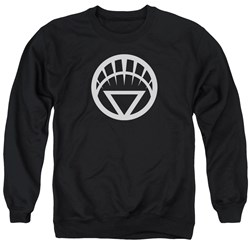 Green Lantern - Mens White Emblem Sweater