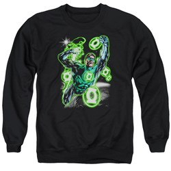 Green Lantern - Mens Earth Sector Sweater