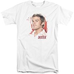 Dexter - Mens Blood Splatter Tall T-Shirt