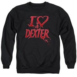 Dexter - Mens I Heart Dexter Sweater