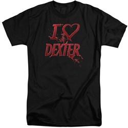 Dexter - Mens I Heart Dexter Tall T-Shirt