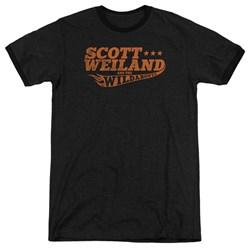 Scott Weiland - Mens Logo Ringer T-Shirt