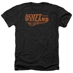 Scott Weiland - Mens Logo Heather T-Shirt