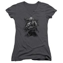 Scott Weiland - Juniors Weiland On Stage V-Neck T-Shirt