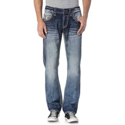 Rock Revival - Mens Phamy J200 Straight Jeans