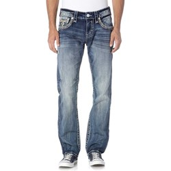 Rock Revival - Mens Clem J200 Straight Jeans