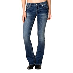 Miss Me - Womens Embellished Bootcut Jeans