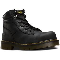 Dr. Martens - Mens Burnham Safety Toe 6 Tie Boot