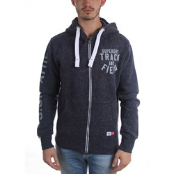 SuperDry - Mens Trackster Zip-Up Hoodie