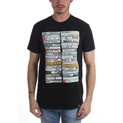 Famous Stars and Straps - Mens Punk Tapes T-Shirt