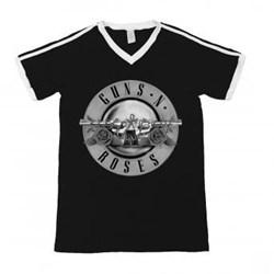 Guns N Roses - Womens Bullet Logo T-Shirt