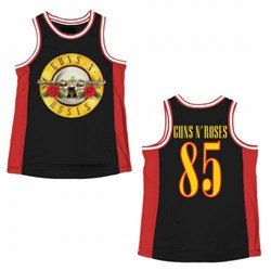 Guns N Roses - Mens Basketball Tank Top