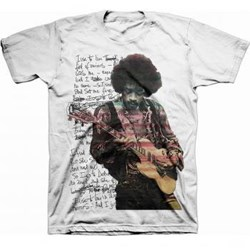 Jimi Hendrix - Mens Room Full Of Mirrors T-Shirt