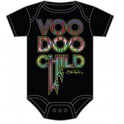 Jimi Hendrix - Unisex-Baby Voodoo Child Onesie T-Shirt