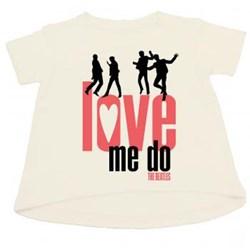The Beatles - Girls Love Me Do_Girls T-Shirt