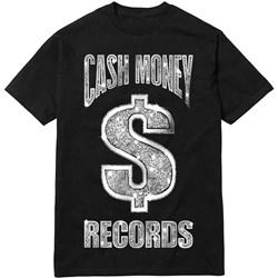 Cash Money Records - Mens Cm Black Bling T Shirt T-Shirt