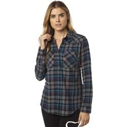 Fox - Womens Flown Ls Flannel Woven