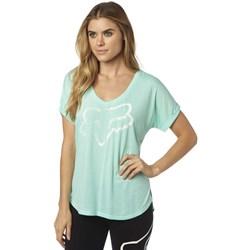 Fox - Womens Responded Vneck Roll Slve T-Shirt