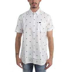 Kr3W - Mens T-Bird Print Button Down Shirt
