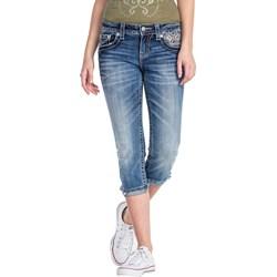 Miss Me - Womens Mid-Rise Capri Jeans MP8600P4