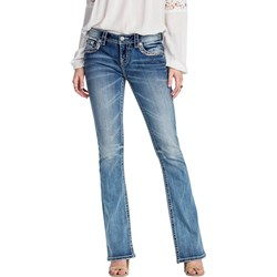 Miss Me - Womens Mid-Rise Bootcut Jeans MP8777B