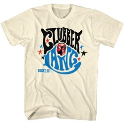 Rocky - Clubber Lang Mens T-Shirt In Dirty White