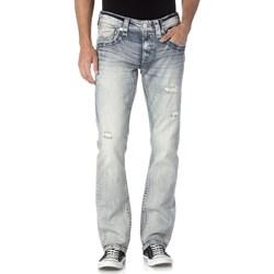 Rock Revival - Mens Jabari J200 Straight Leg Jeans