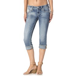 Rock Revival - Womens Barbila P212 Capri Jeans