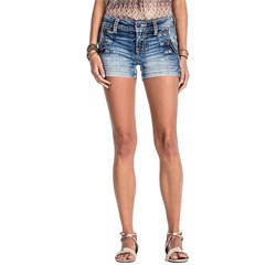 Miss Me - Womens Mid Rise Shorts MS5148H15