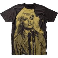 Debbie Harry - Mens Big Print Subway T-Shirt