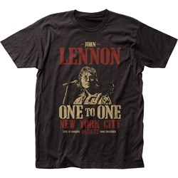 John Lennon - Mens One To One Fitted T-Shirt