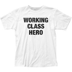 John Lennon - Mens Working Class Hero Fitted T-Shirt