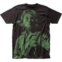 John Lennon - Mens Big Print Subway T-Shirt